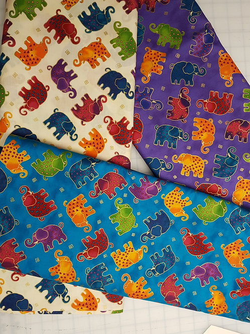 Laurel Burch - Here Come The Elephants!