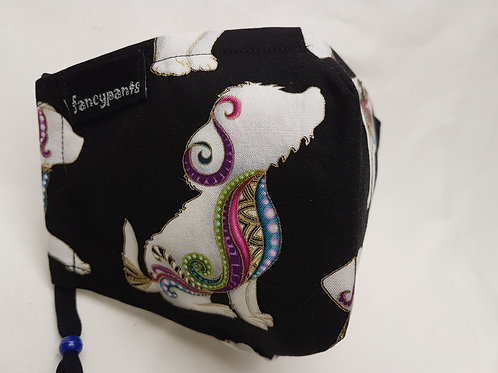 Fantastic Dogs Collection - Cotton Facemasks