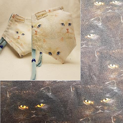 Cotton Candy Cats - Cotton Facemasks