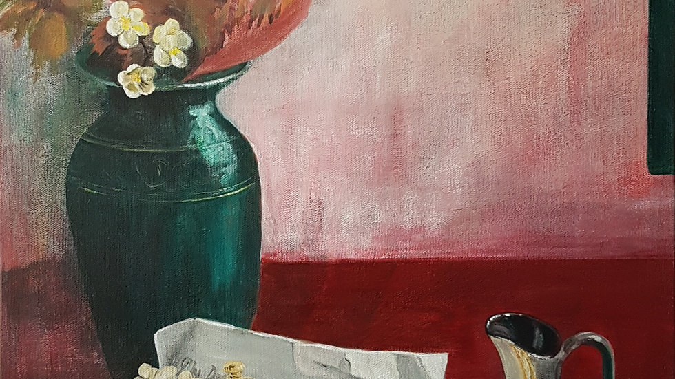 My Dearest Darling - Acrylic on Canvas 18 x 24