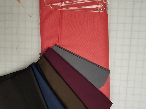 Solids Plain Colours - Cotton Facemasks