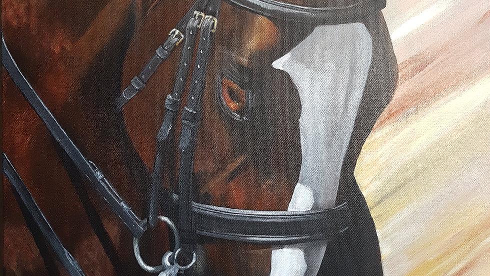 "Fabregas Acrylic on Gallery Canvas 24"" x 18"""