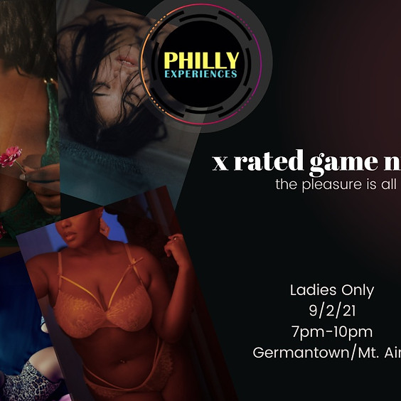X Rated Game Night: The Pleasure is All Hers