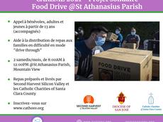 Food drive @St Athanasius Parish
