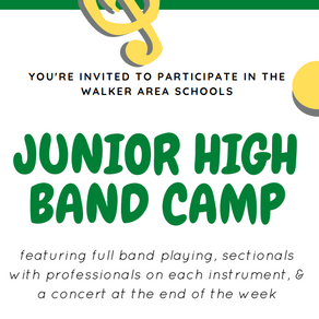 Summer Band Opportunity