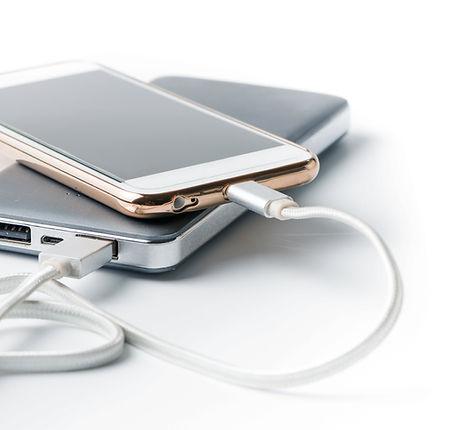Mobiltelefon és Powerbank