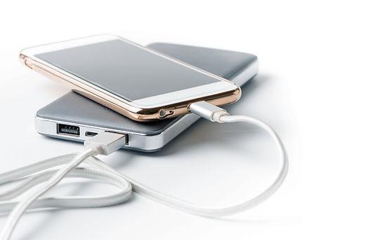téléphones de charge