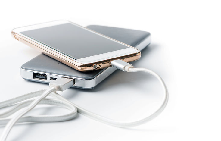 portable charger charging cord phone mobile