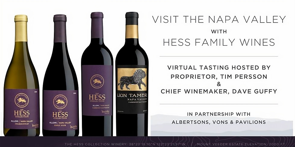 Visit the Napa Valley with Hess Family Wines