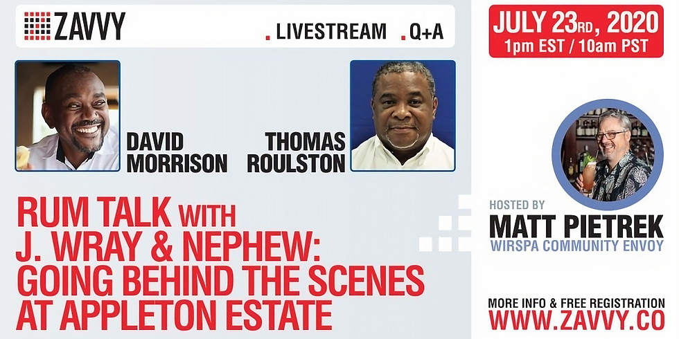 Rum Talk w/ J.Wray & Nephew: Going Behind the Scenes At Appleton Estate