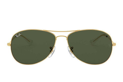 RAY-BAN COCKPIT RB3362 001, Or, Vert Classique G-15
