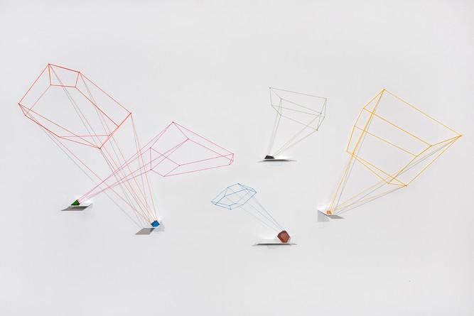 Madisyn Zabel, Outline, 2017, glass, pai