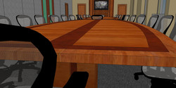 Conference Room - 3d Rendering