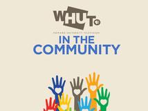 WHUT in the community