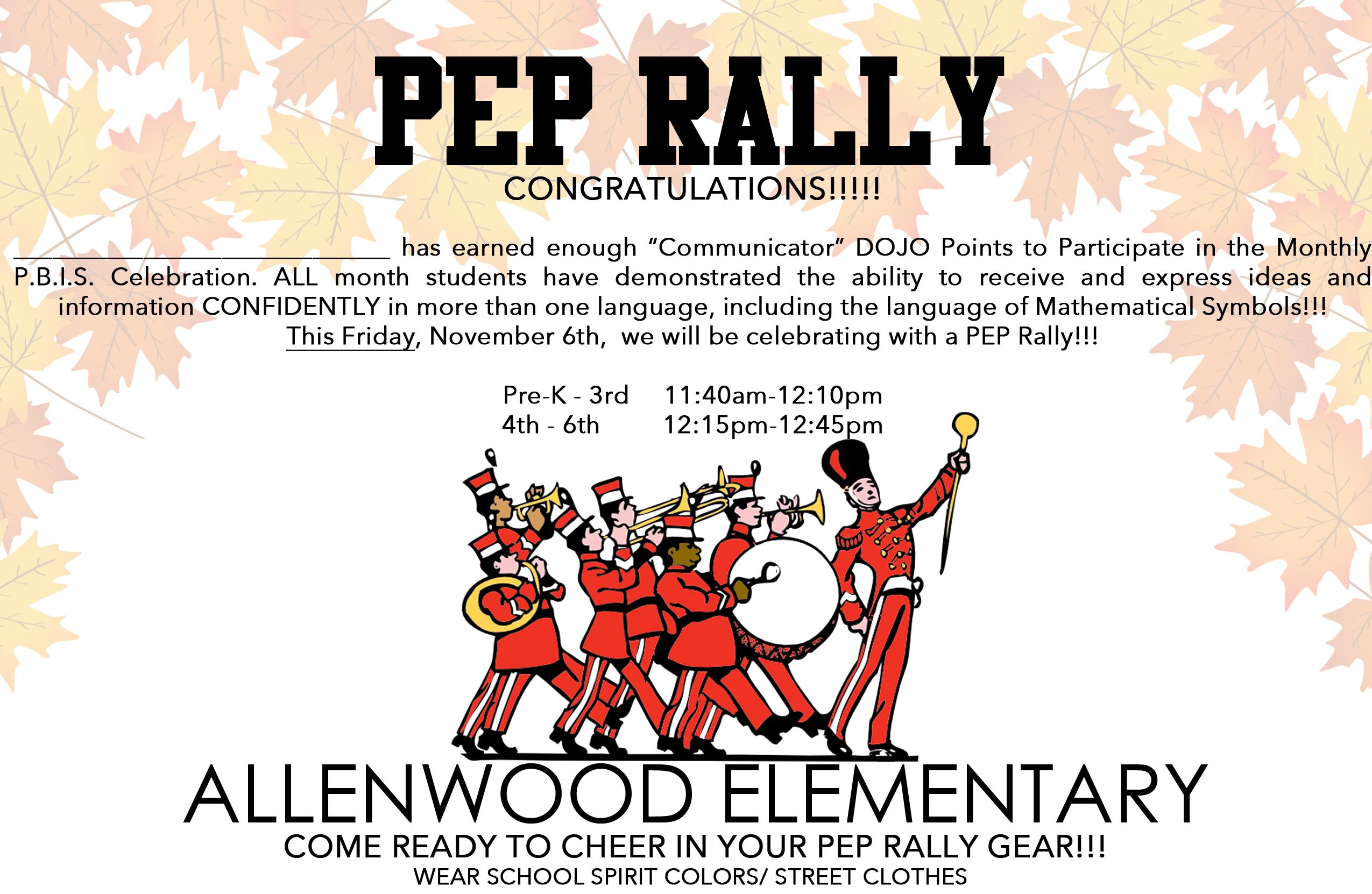 allenwood pep rally