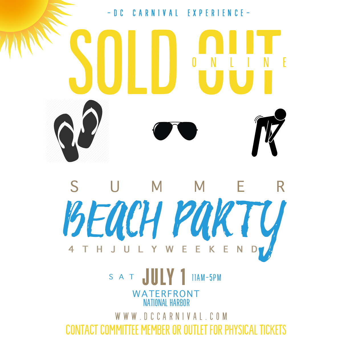 Beach SOLD OUT ONLINE
