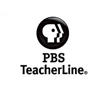 PBS Teacherline logo Black and White - Click to open