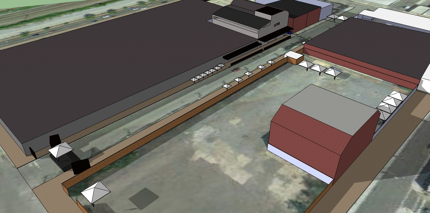 Site Layout for Permitting