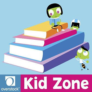 PBS KIDS, overstock kid zone logo Illustration