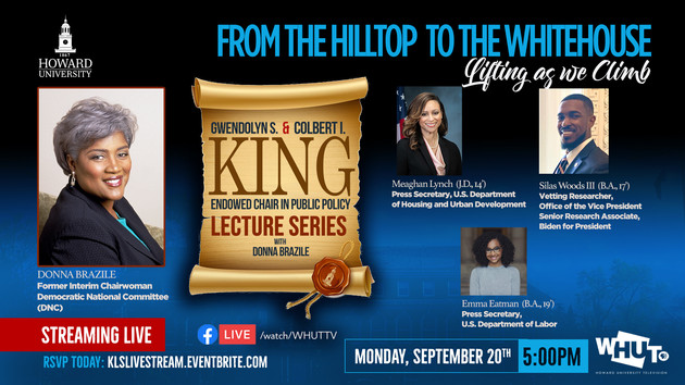 King Lecture Series Via Facebook Live!