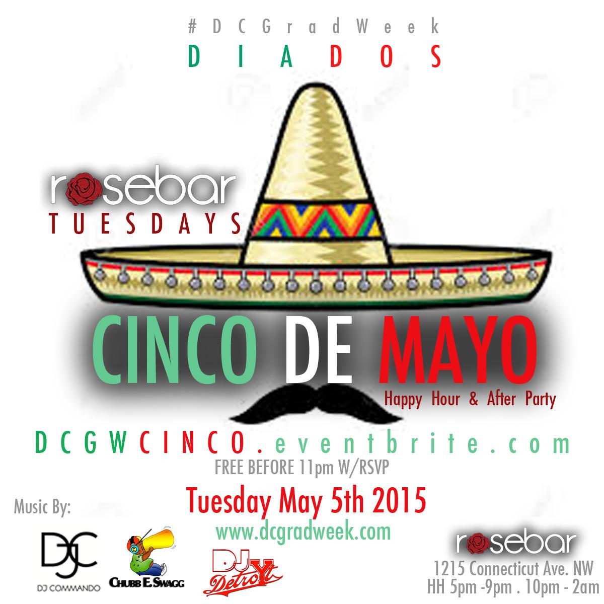 Cinco De Mayo Event Flier