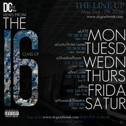 LINE UP of Events