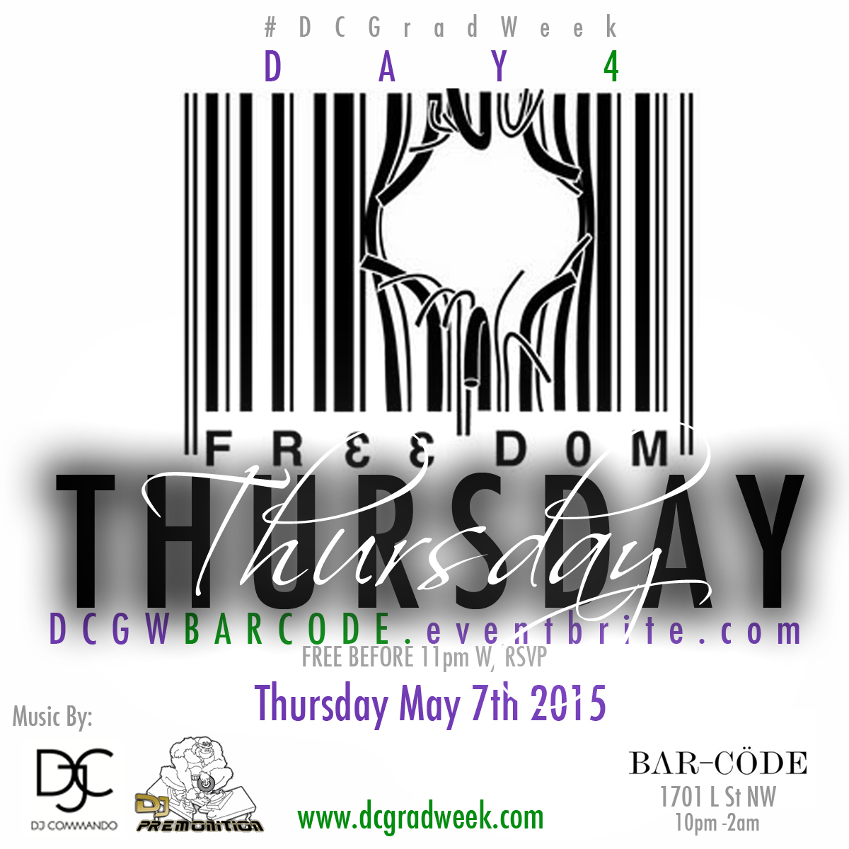 Freedom Barcode