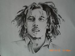 Bob Marley Pencil