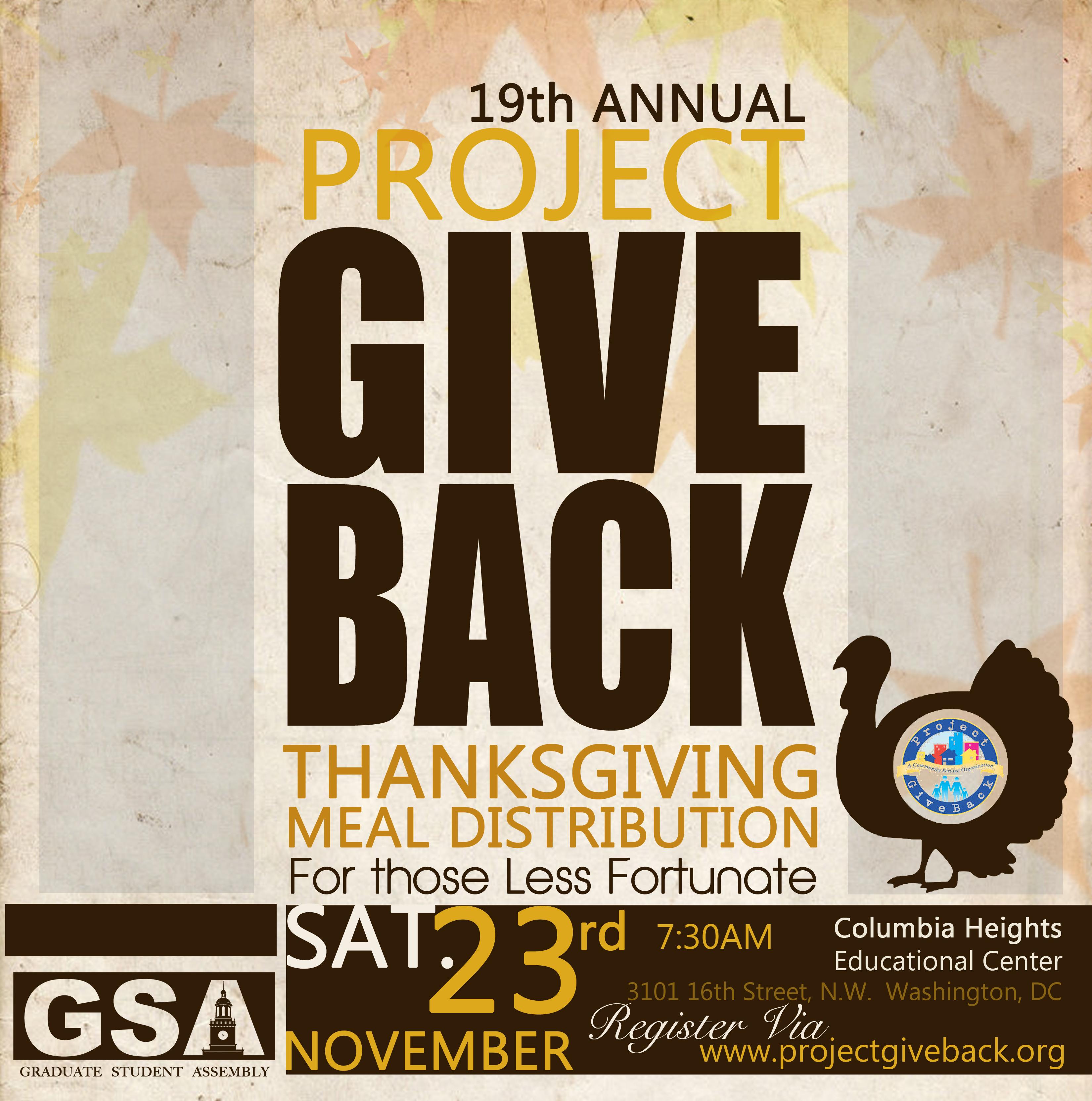 Non Profit - Project Giveback