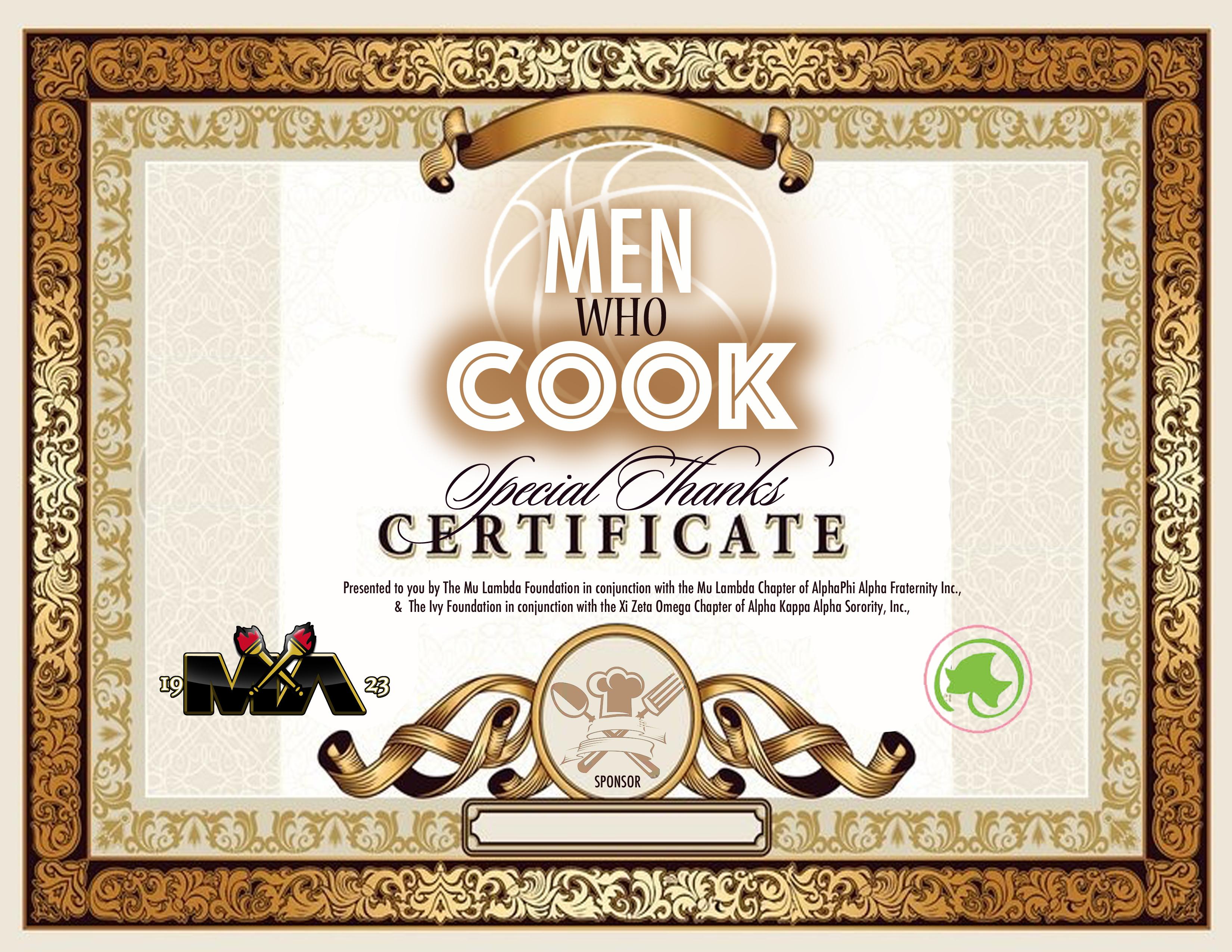 menwhocook certificate 2