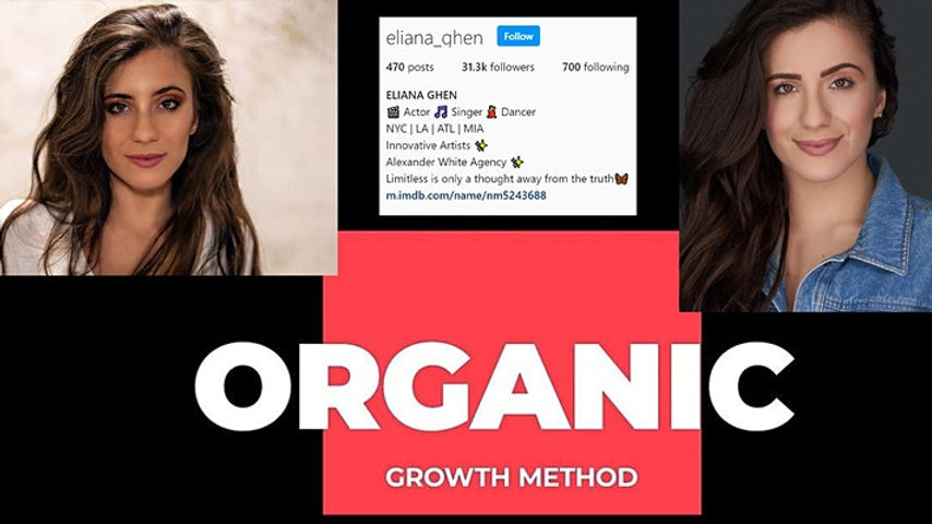 Instagram Organic Growth Online Training Workshop
