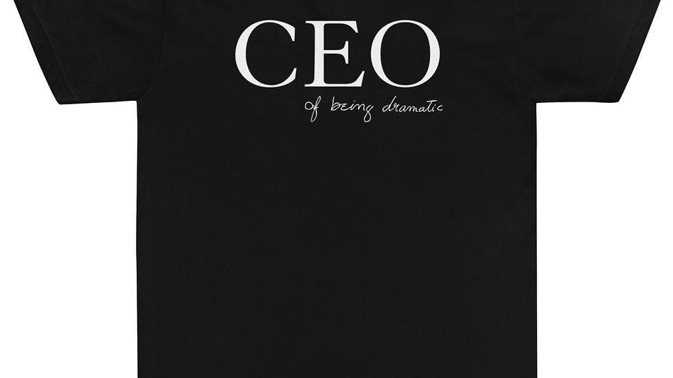 "American Apparel ""CEO of being dramatic"" Eliana's handwriting"