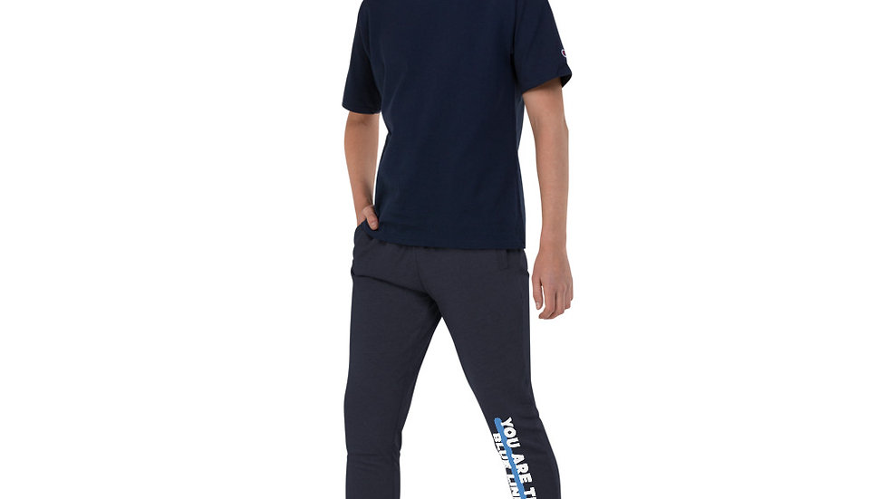 YOU ARE THE BLUE LINE - Unisex Skinny Joggers
