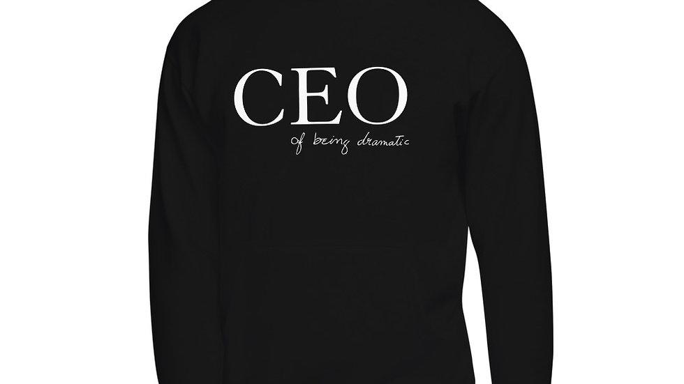 "Unisex Hoodie ""CEO of being dramatic"" Eliana's handwriting"