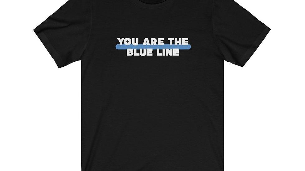 BLUE LINE - Unisex Jersey Short Sleeve Tee