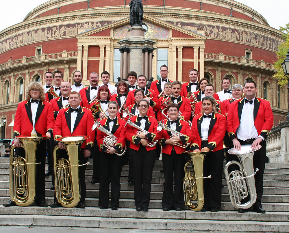 Seindorf Beaumaris on the steps of the Royal Albert Hall