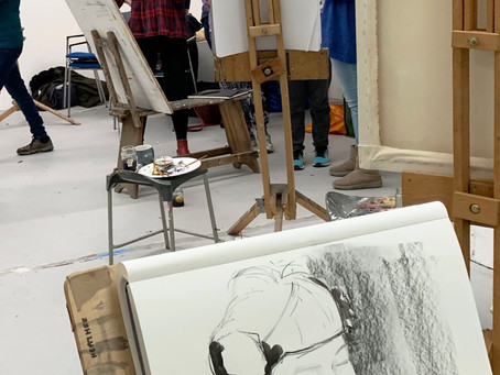 The Very Successful Life Drawing Day