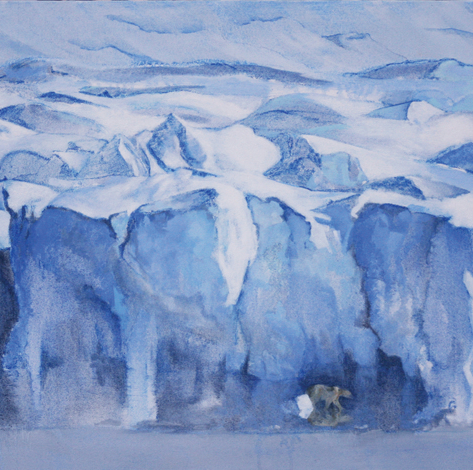'SINALIARPOK' - 'Goes to Edge of Ice'