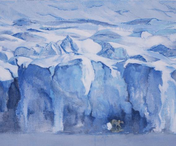 'SINALIARPOK' - 'Goes to Edge of Ice'