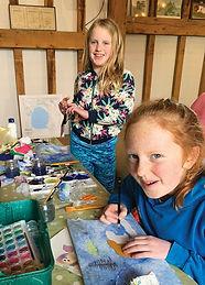 winter watercolour workshop heather gray
