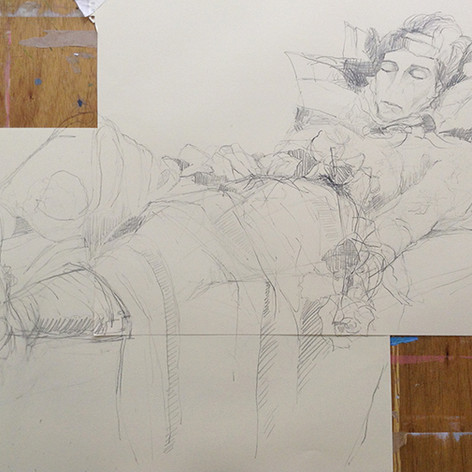 Original, observational life drawing