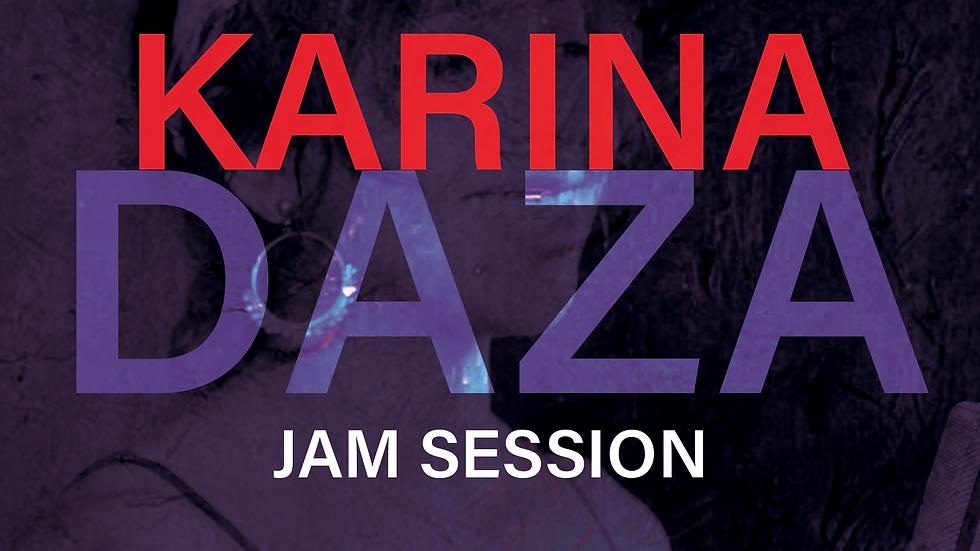 Live and Amplified Jam Session - Karina Daza