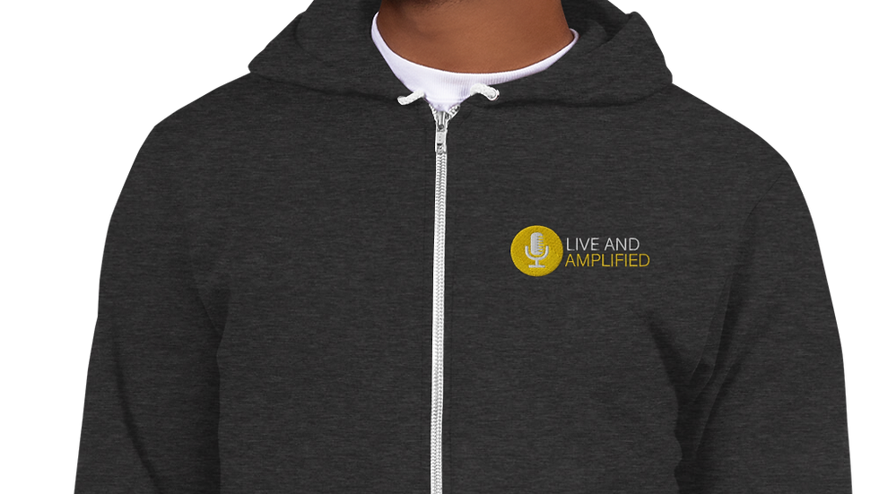 Live and Amplified - Classic Zip Hoodie sweater