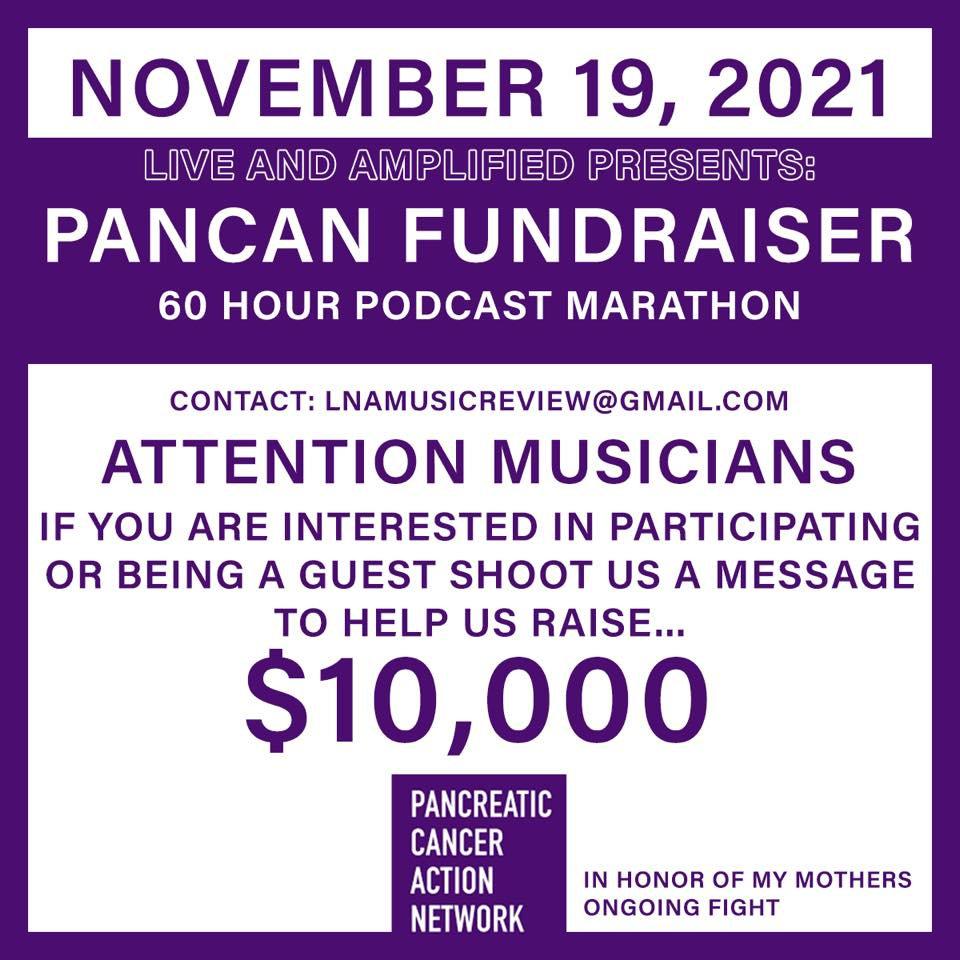 PanCAN Virtual Podcast Fundraiser