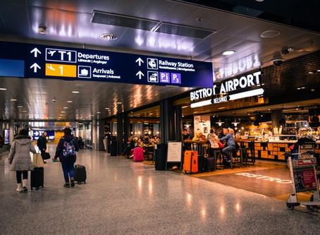 Aeropuerto. Vuelo Internacional