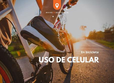 Evita multas mientras montas bicicleta