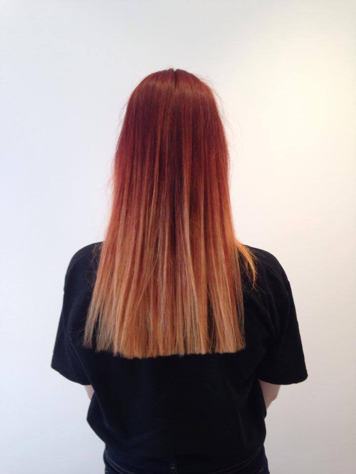 Flame ombre
