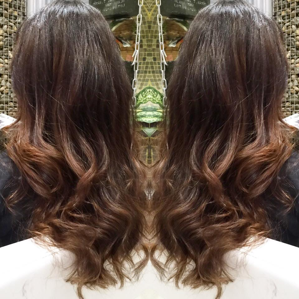 Biscuit Balayage Ombre