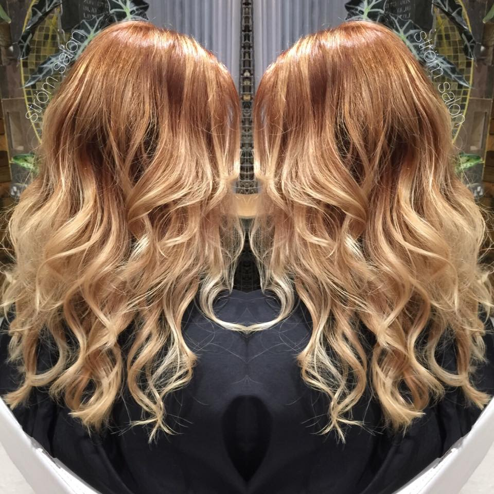 Autumn Balayage Ombre