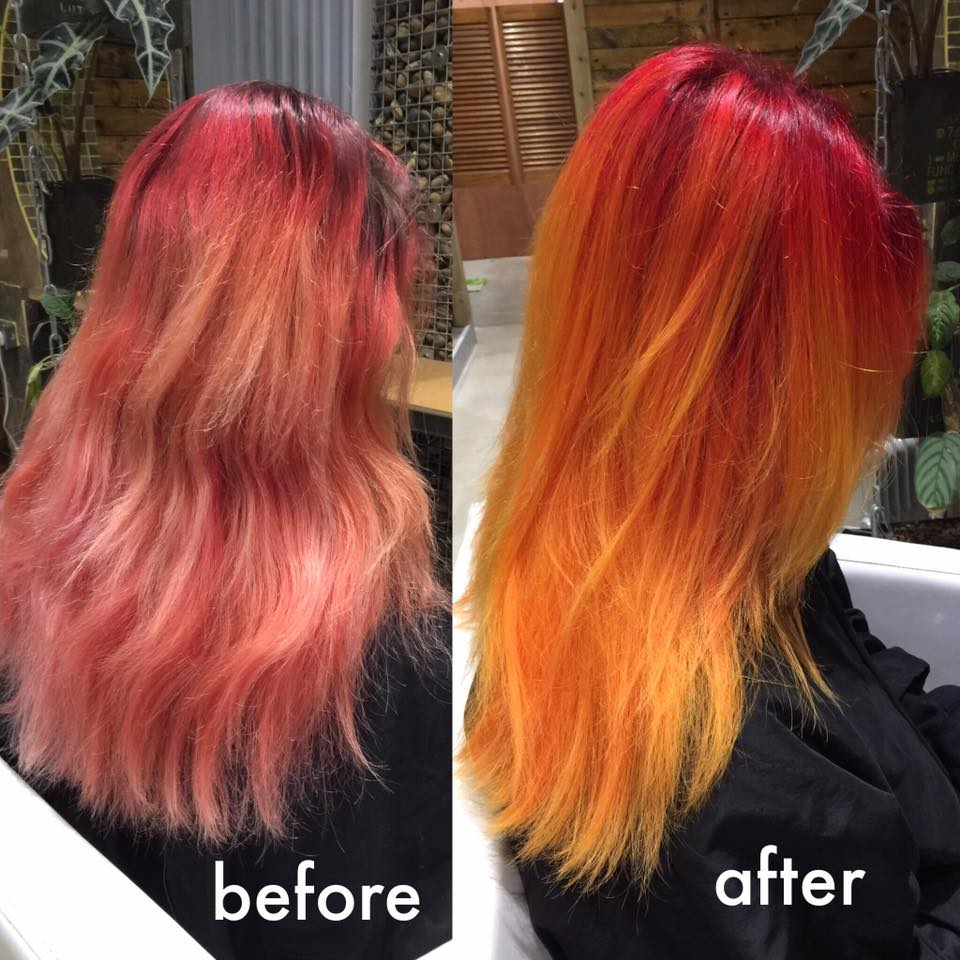 transformation flame sunset